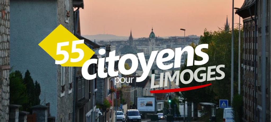 55 citoyens pour Limogesg