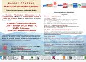 Conférence-atelier sur les enjeux d'aménagement du Massif central