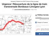 Rencontre citoyenne sur le train Bordeaux-Lyon