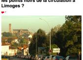 Quels sont les points noirs de la circulation à Limoges ?