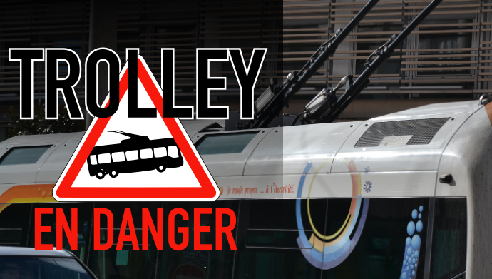 trolley en danger