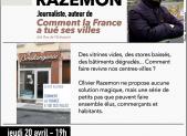 Rencontre-débat avec Olivier Razemon (20 avril)