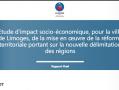 Etude sur l'impact de la réforme territoriale : réaction de 55CPL