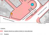 Une proposition de réaménagement de la place Haute-Vienne